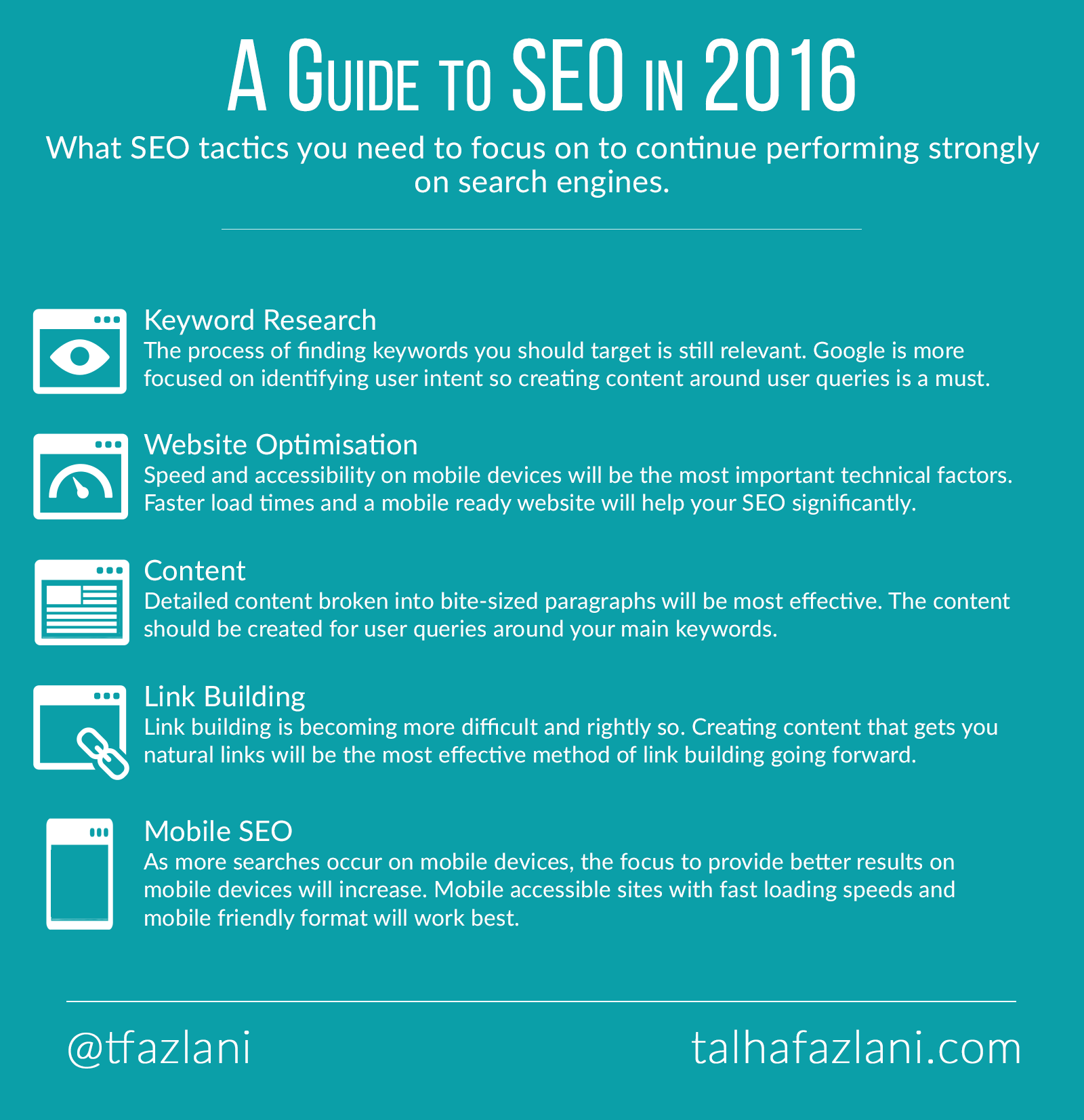 A guide to SEO in 2016